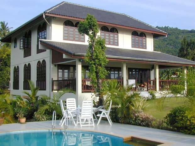 villa ferienhaus haus auf koh samui kaufen einfamilienhaus am meer vom immobilienmakler. Black Bedroom Furniture Sets. Home Design Ideas