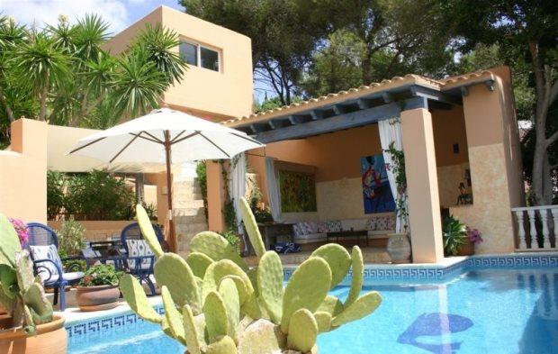 Haus mit Meerblick in Ibiza Stadt kaufen Immobilien in