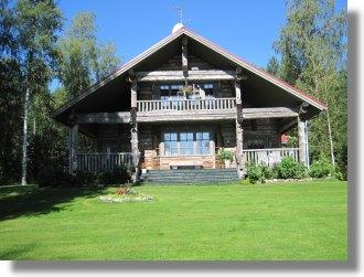 finnland haus auf oravisalo bei r kkyl kaufen ferienhaus villa einfamilienhaus finnland. Black Bedroom Furniture Sets. Home Design Ideas