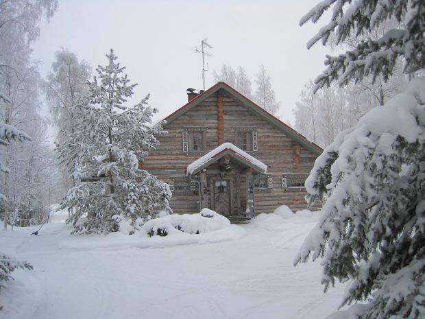 finnland ferienhaus der insel oravisalo im orivesi see kaufen vom immobilienmakler karelien. Black Bedroom Furniture Sets. Home Design Ideas
