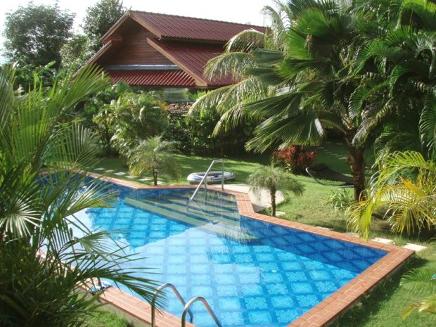 Bungalowanlage in Chalong Phuket mit Pool