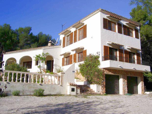 einfamilienhaus ferienhaus in les bassetes valencia alicante costa blanca kaufen. Black Bedroom Furniture Sets. Home Design Ideas