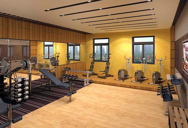 Sportstudio im Celesta Tower