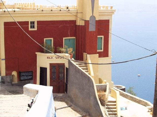 Villa in Thira